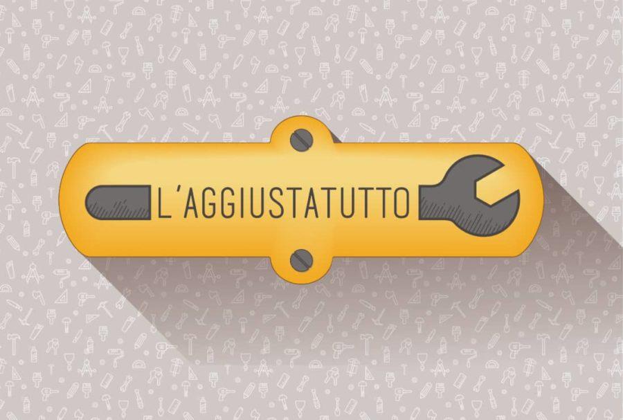 logo per arigiano l'aggiustatutto
