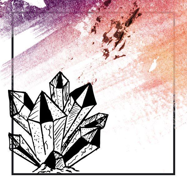 sketch grafica cristalli
