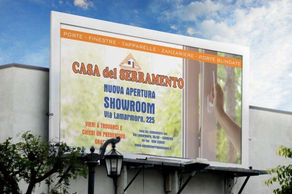 cartellonistica con comunicazione urbana