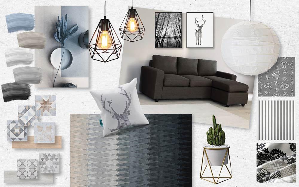 Moodboard di Interior Design