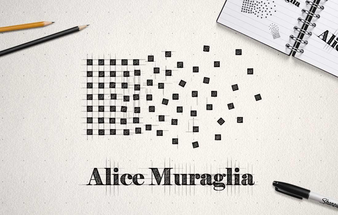 progetto logo Alice Muraglia Design