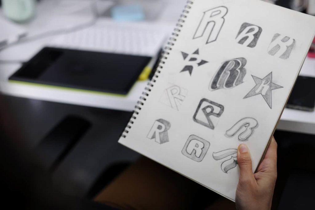 progettazione di un logo