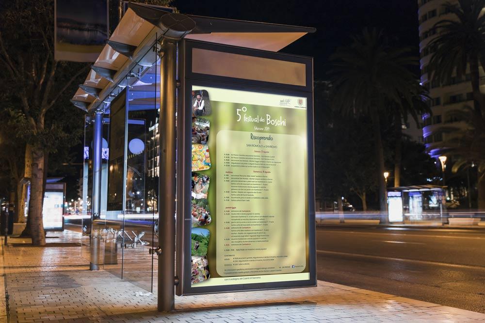 FDB-billboard-busstop-night